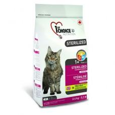 1st CHOICE корм для кошек Sterilized, курица с бататом